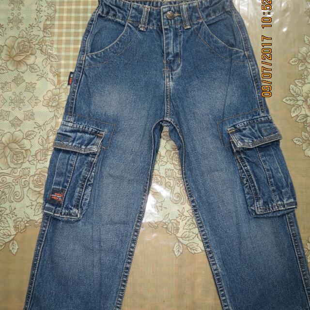 For Kids Bossini Jeans Co. Denim Pants