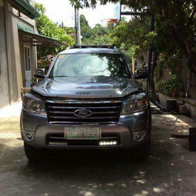 Ford everest 2012 limited edition (titanuim gray)