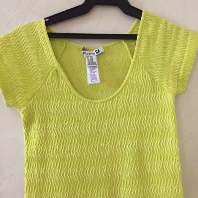 Forever 21 Neon Body Dress
