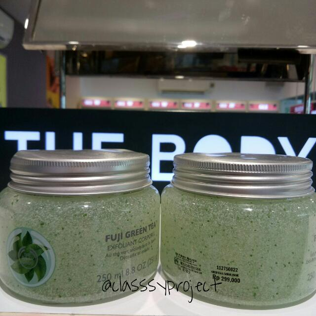FUJI GREEN TEA SCRUB BODY SHOP