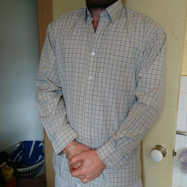 Georgio Armani Men's Button Up