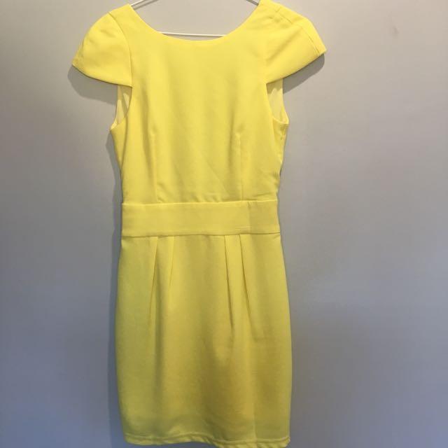 Gingham & Heels Backless Dress