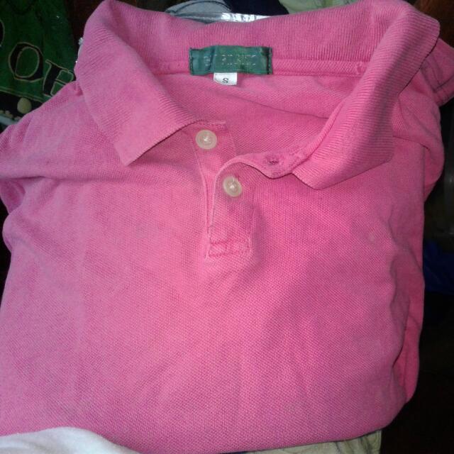 Giordano Pink Polo Shirt