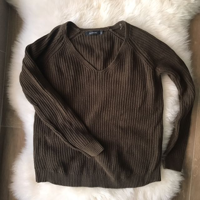 Glassons Sweater (olive)