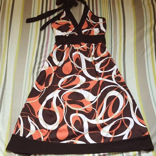 Halter Dress for 200