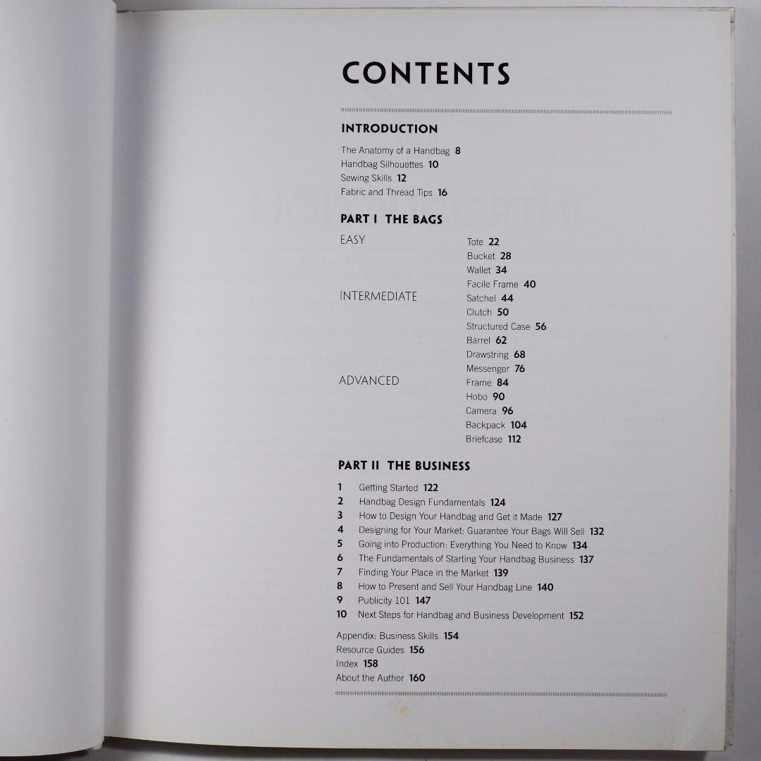 Handbag Designer 101 Everything You Need To Know About Designing Making And Marketing Handbags Books On Carou
