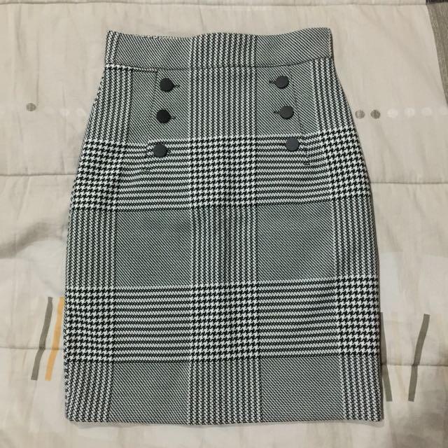 High Waisted Pencil Skirt (h&m)