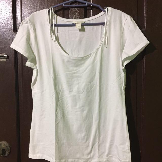 H&M Plain white shirt