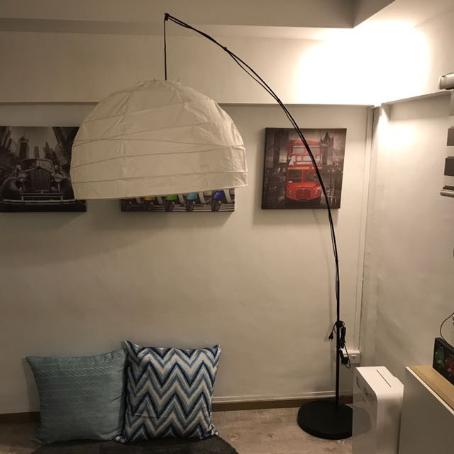 Ikea Regolit Floor Lamp Furniture