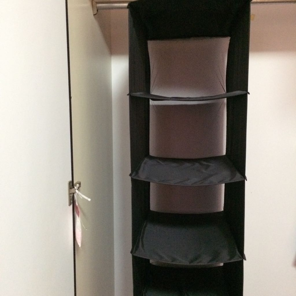 **CLEARANCE** IKEA Six Compartment Hanging Clothes Organizer