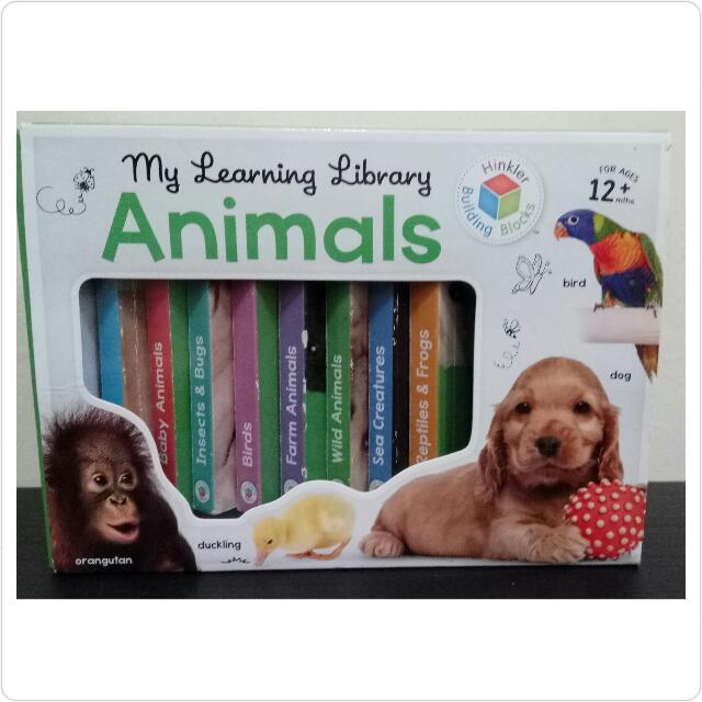 Import Book! My Learning Library Animals