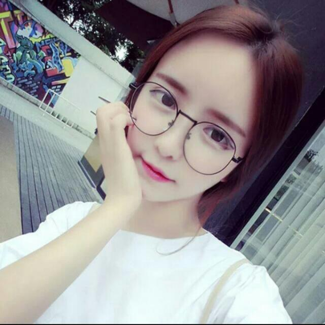 Instock Korean Round Fake Specs Glasses Women 39 S Fashion Accessories On Carousell