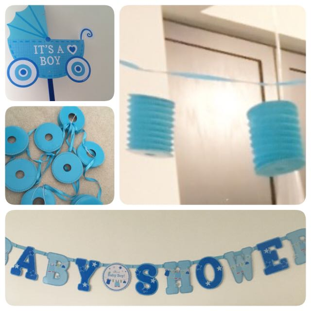 """It's a Boy"" Baby Boy Shower Decorations"