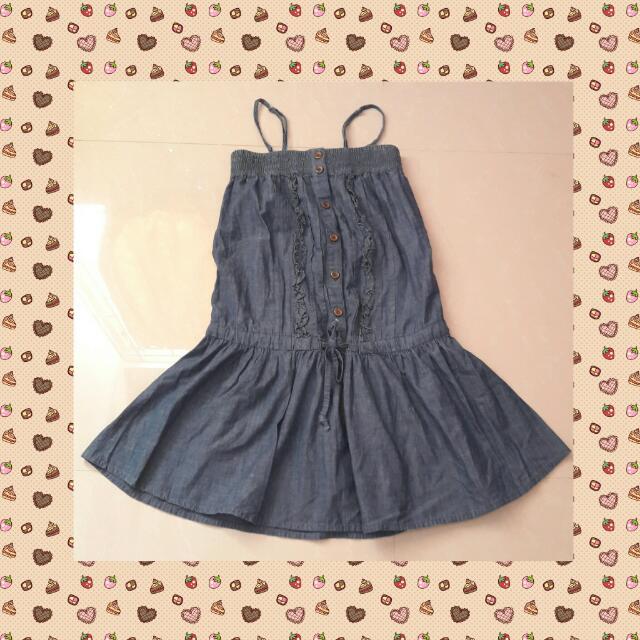 Jeans Tumblr Dress