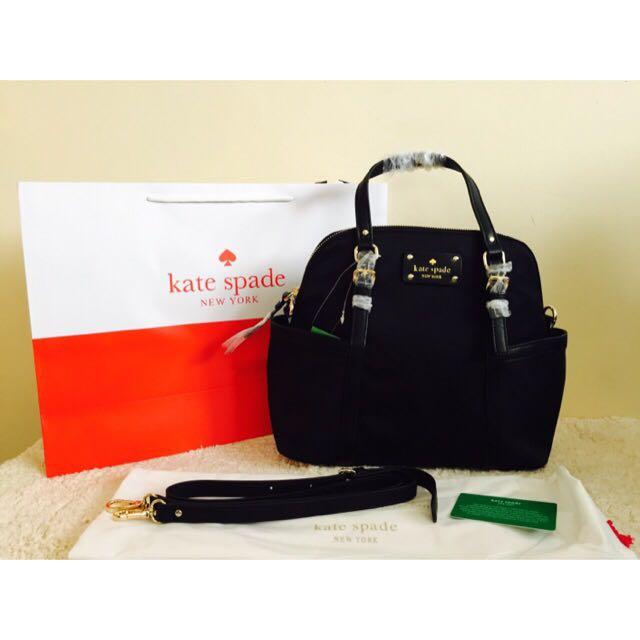 Kate Spade Maise Bag (Black)