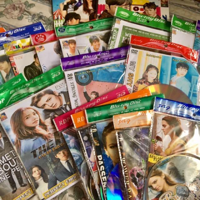 KDRAMA DVDS
