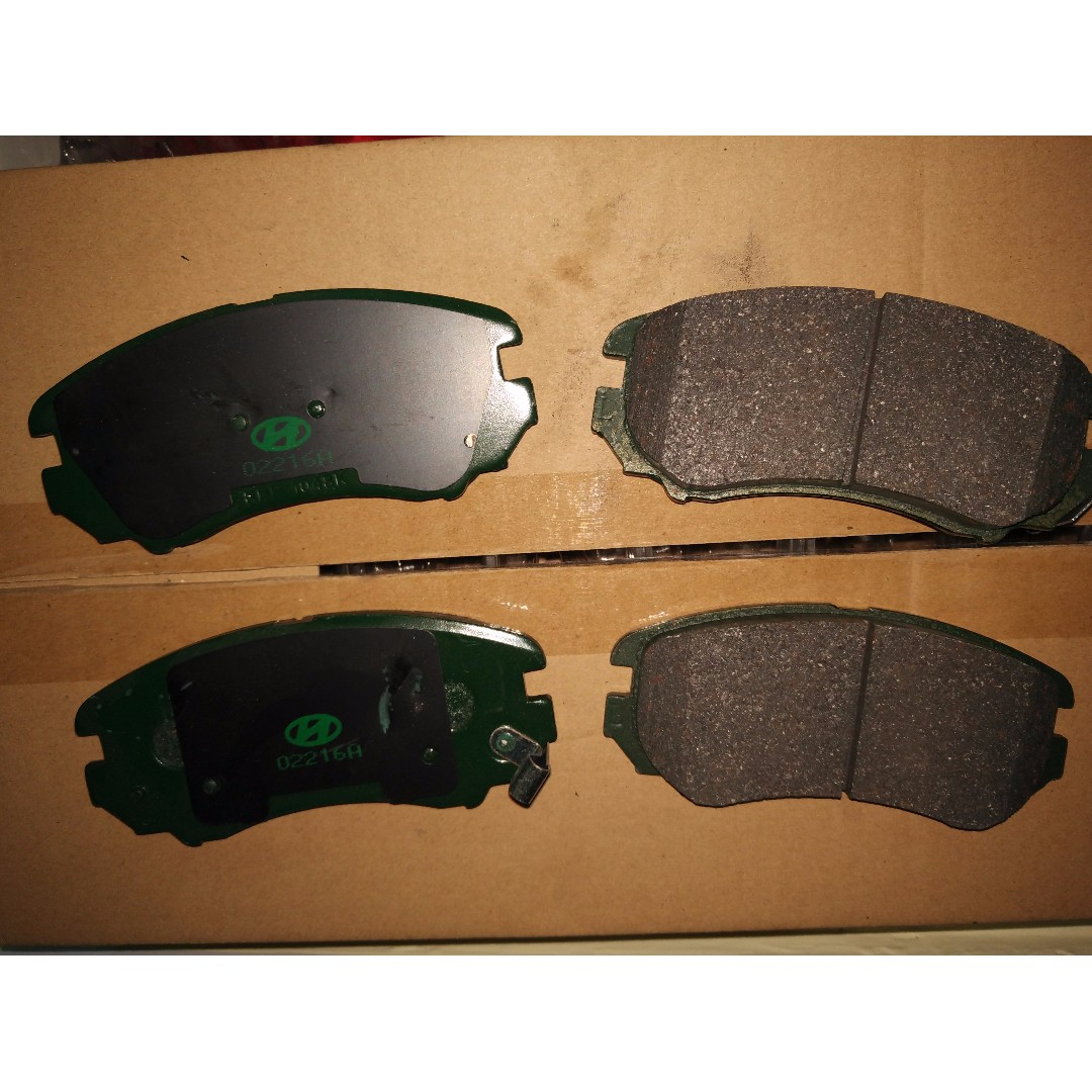 excel getz hyundai quality accent pads set brake front