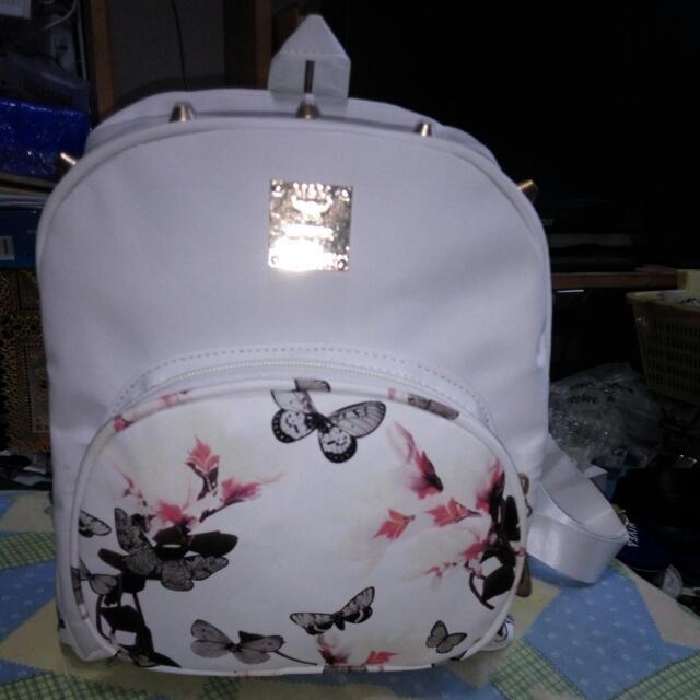 KOREAN FLORAL medium Backpack (kpop Na Kpop)