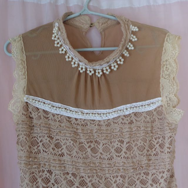 Korean Lace Blouse