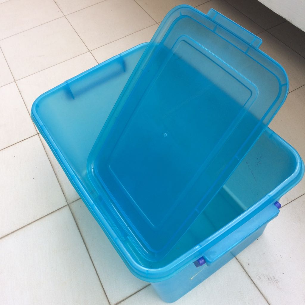 **CLEARANCE** Large Plastic Containers