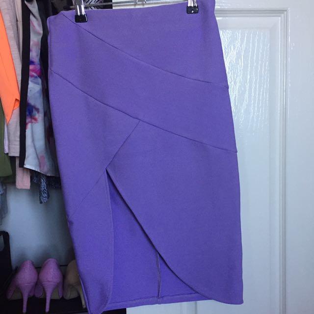 Lavender Purple Skirt