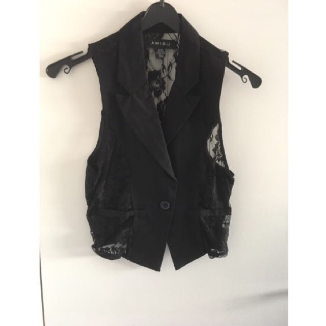 Light Black Vest