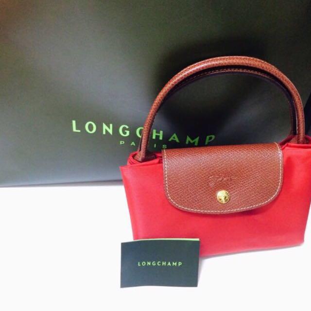 Longchamp 短把中型手提包