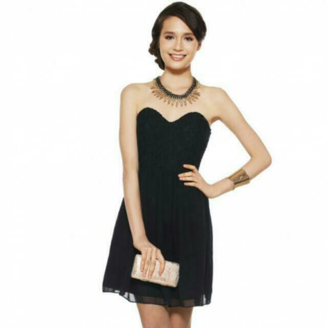 ddbfbfc65e9 Love Bonito Ledea Dress in Black