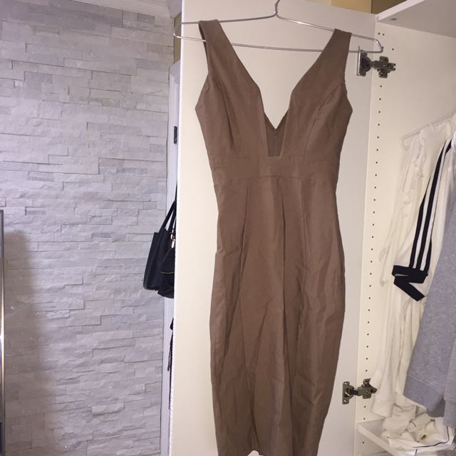 M Boutique Tan Dress