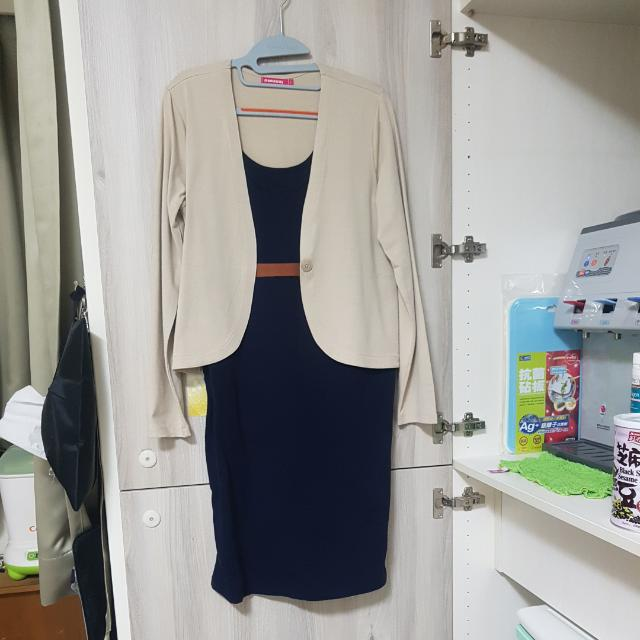 Mamaway孕婦正式洋裝 面試/見客戶可用
