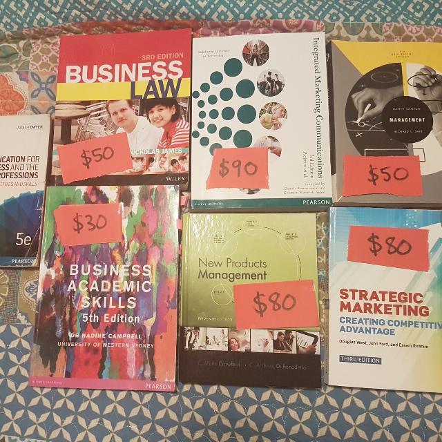 Marketing & Business Textbooks