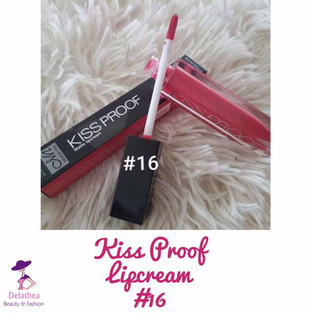 Menow Kissproof Lipcream #16