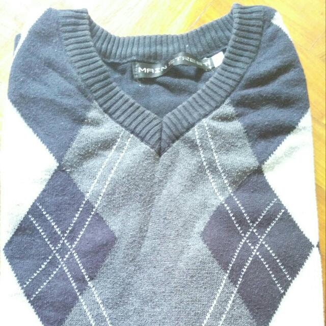 Men's Sleeveless Sweater
