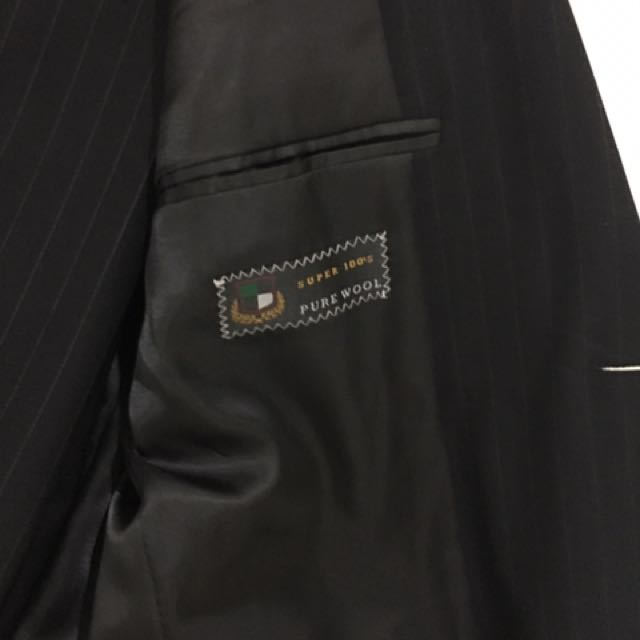 Made In Italy Men's Suit Jacket And Trousers | Size M | 100% Wool