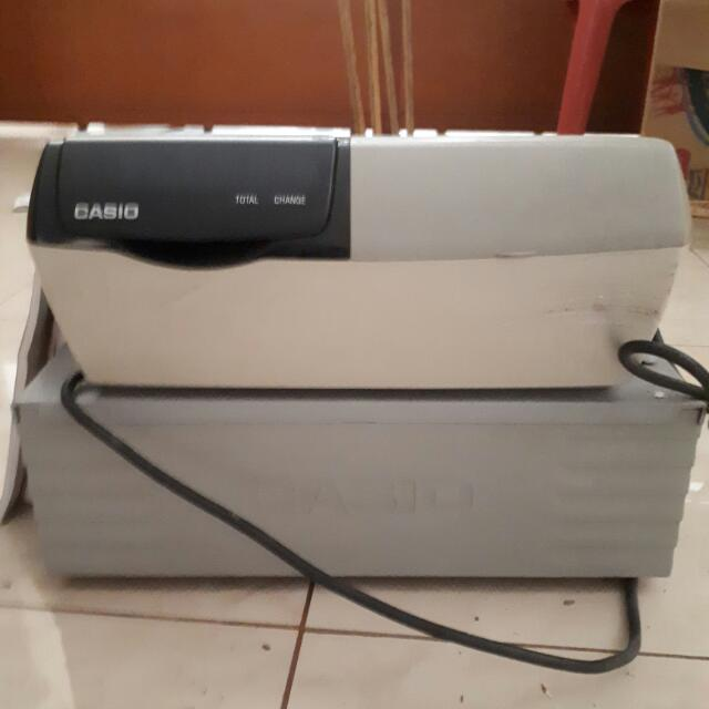 Mesin Hitung Cash Register Casio