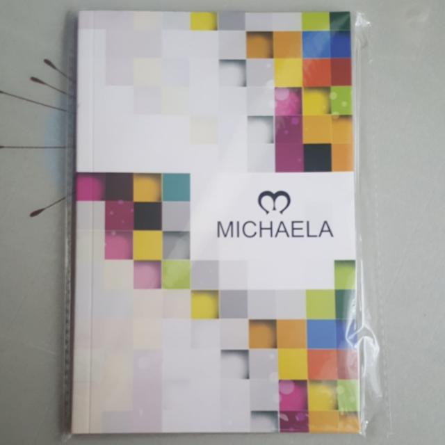 Michaela Planner With Vouchers