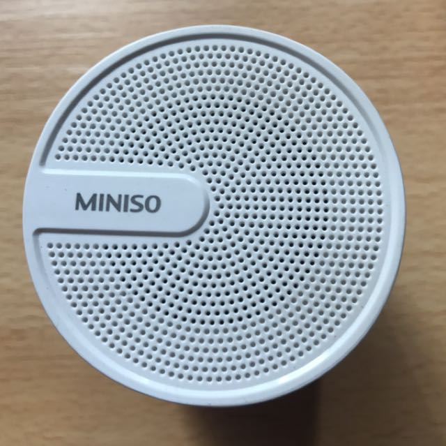 MINISO Bluetooth Portable Speaker, Electronics, Audio On Carousell