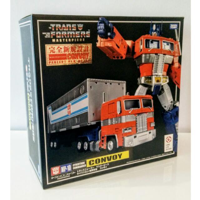 MP-10 CONVOY (Optimus Prime) Transformers Masterpiece