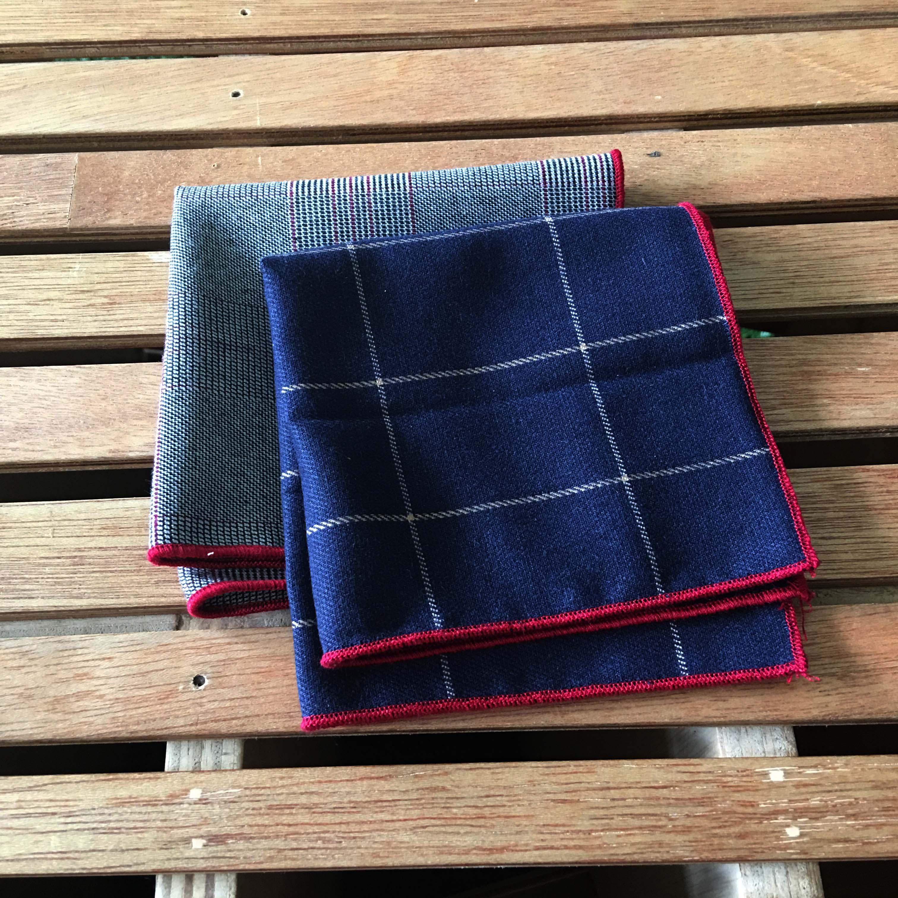 Mr Porter Inspired Wool Pocket Squares
