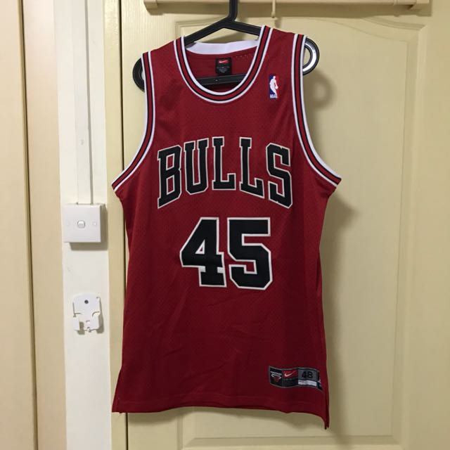 separation shoes ac63a 2f1c6 Nike Jordan #45 Throwback Jersey Fits M-L