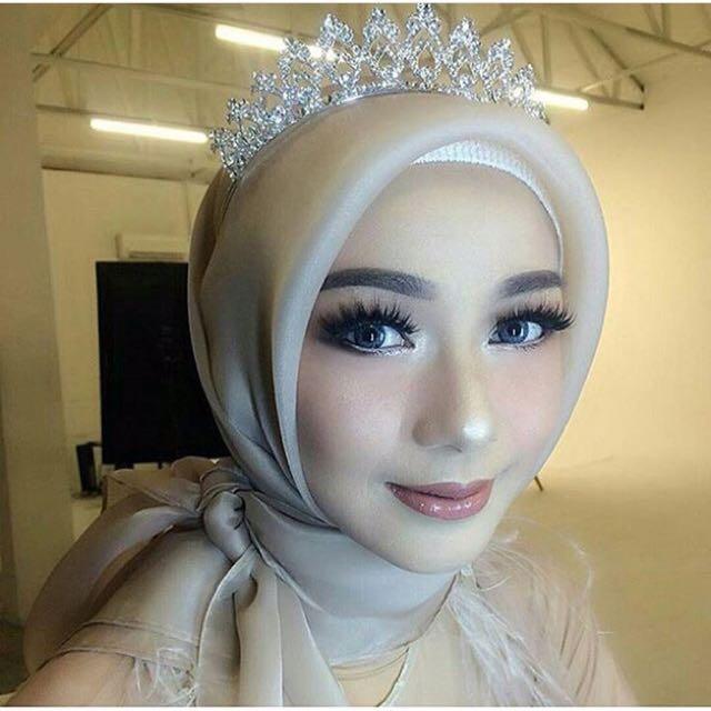Organza Hijab Segi 4