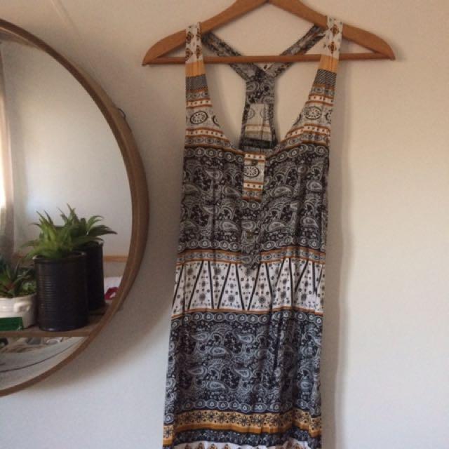 Paisley Pattern mini dress