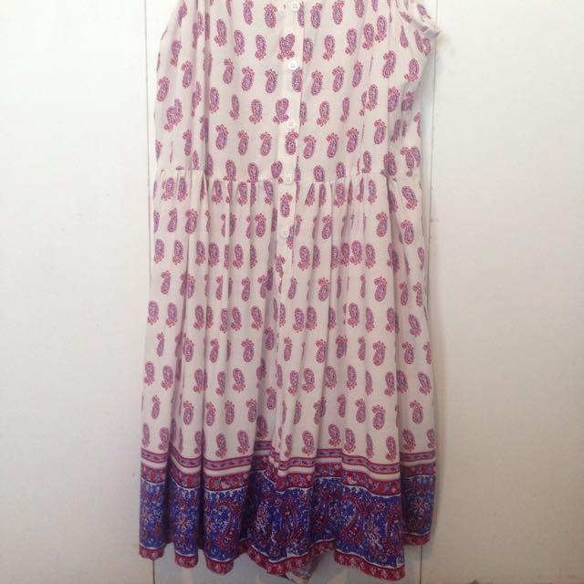 Paisley Playsuit Dress