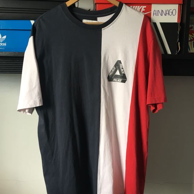 Palace Vertical Tri-Stripe Tee SS16