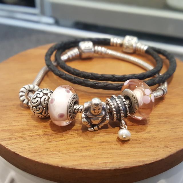 Pandora Bracelets (Both With Charms)