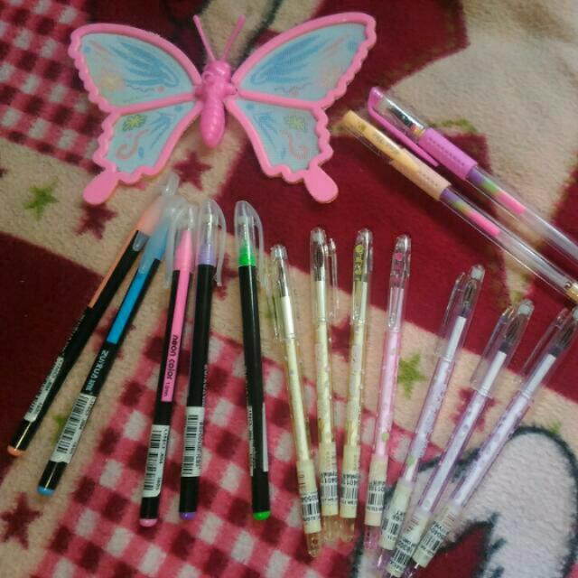 Pen , Highlighter Pen, Rainbow Pen