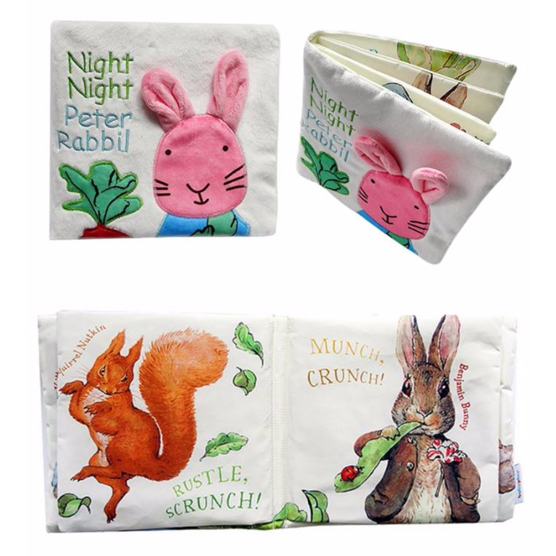 Peter Rabbit Baby Story Animal Cloth Book
