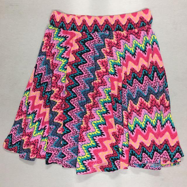 Preloved Print Skirt