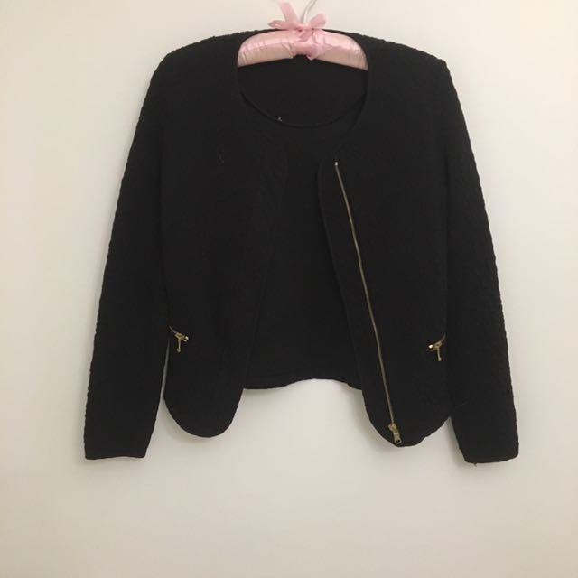 Promod Black Jacket