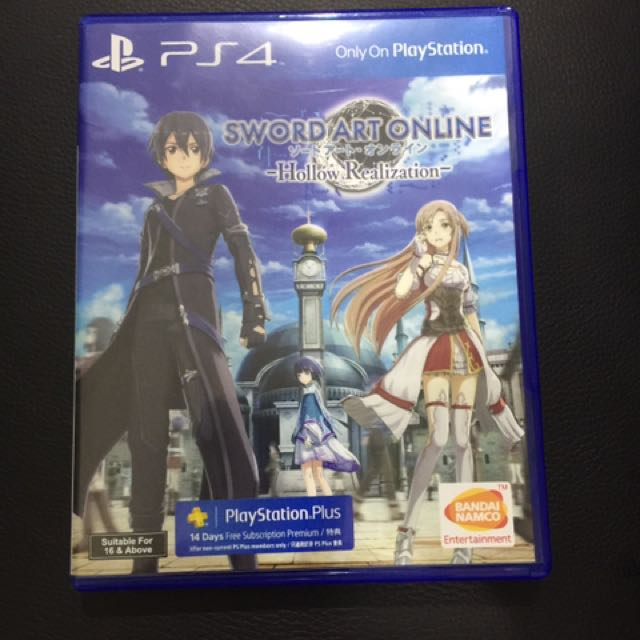 Ps4 SWORD ART ONLINE ( SAO ) Hollow Realization